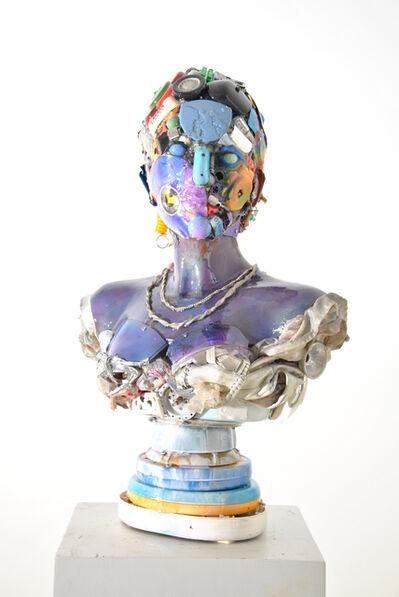 Dario Tironi, 'Busto di Donna Blu', 2016