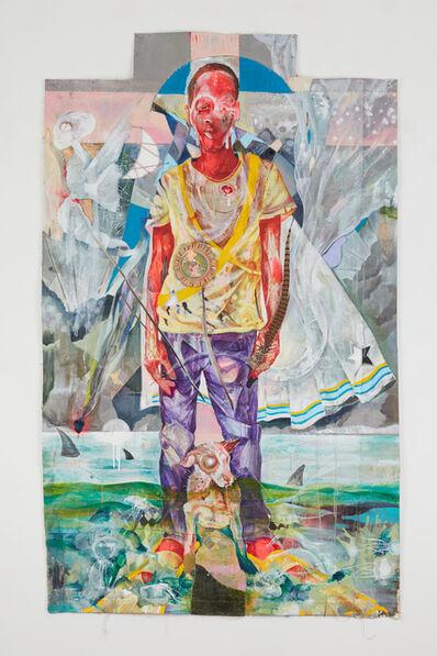 Lavar Munroe, 'Knee Deep in a Sea of Sharks', 2020