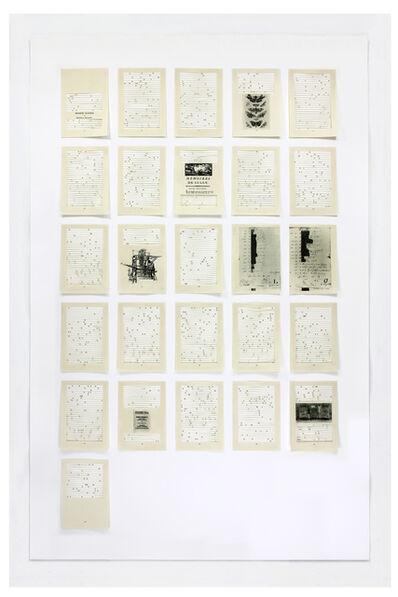Jane Benson, 'Song for Sebald   Chapter 10', 2016
