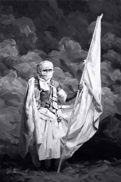 Yoann Mérienne, 'Le porte drapeau', 2020