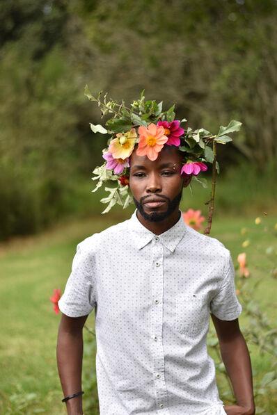 Nomusa Mtshali, 'Intshebe Yami Ubulili Bami (My Beard is My Gender) II', 2019