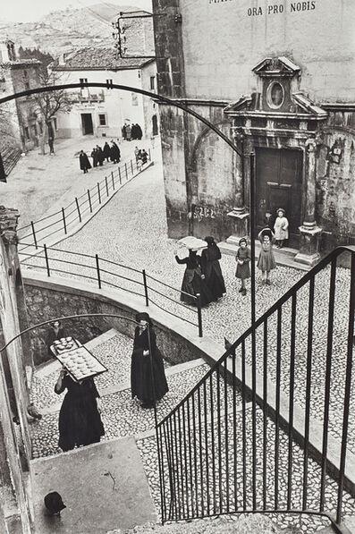 Henri Cartier-Bresson, 'Aquila degli Abruzzi, Italy', 1951