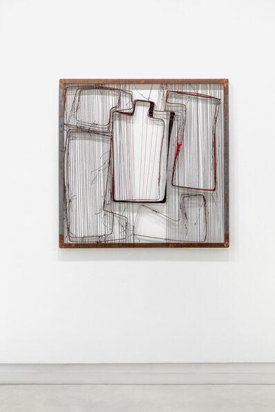 Verónica Vázquez, 'De la série tapices con metales', 2016