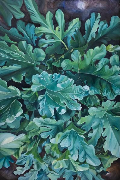 Marina Le Gall, 'Zucchini leaves', 2019