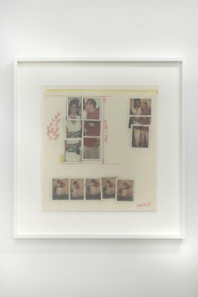 Andy Warhol, 'Keith Haring and Model Wanakee Pugh', 1984