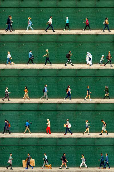 Xan Padron, 'Time Lapse, Christopher Street, West Village', 2020