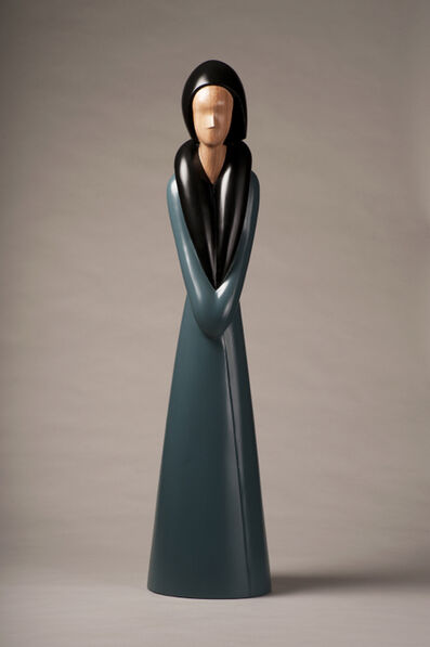 David Hostetler, 'City Woman, wood sculpture', 2011