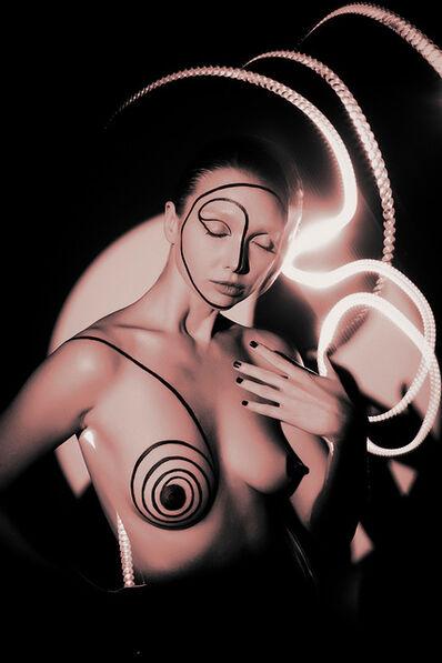 Indira Cesarine, 'Natalya Electric No 2 (Pink)', 2020