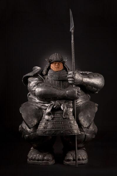 Matteo Pugliese, 'Samurai Guardian V, Silver edition', 2017