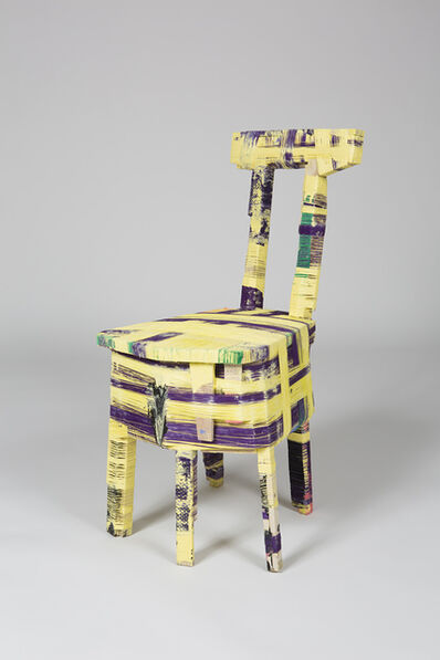 Anton Alvarez, 'The Thread Wrapping Machine Chair 090415', 2015