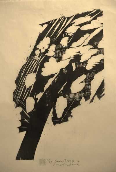 Naoko Matsubara, 'Snow Tree B', 2014