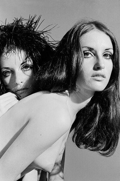 Baron Wolman, 'The Sanchez twins topless', 1968