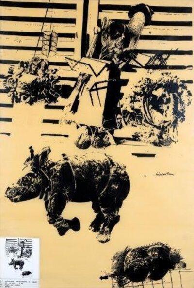 Vladimir Velickovic, 'Rhinocéros 6'