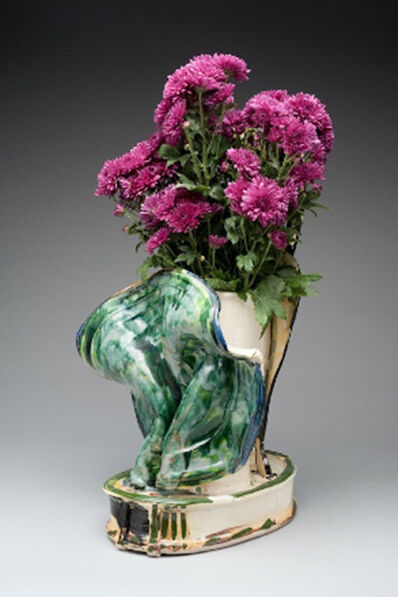 Betty Woodman, 'Betty Woodman Flower Vase', 1993