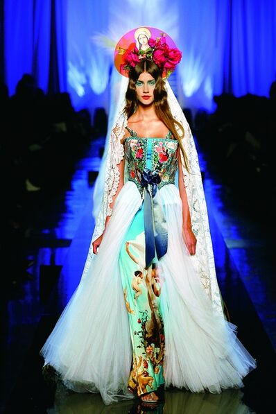 "Jean Paul Gaultier, '""Apparitions"" gown from Jean Paul Gaultier's ""Virgins (or Madonnas)"" women's haute couture spring-summer collection of 2007', 2007"