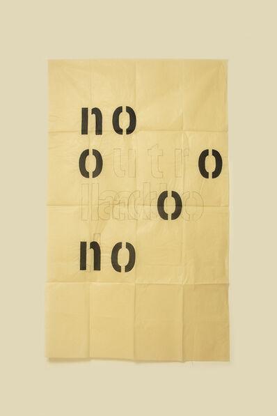 Guillermo Daghero, 'No outro lado no', 2020