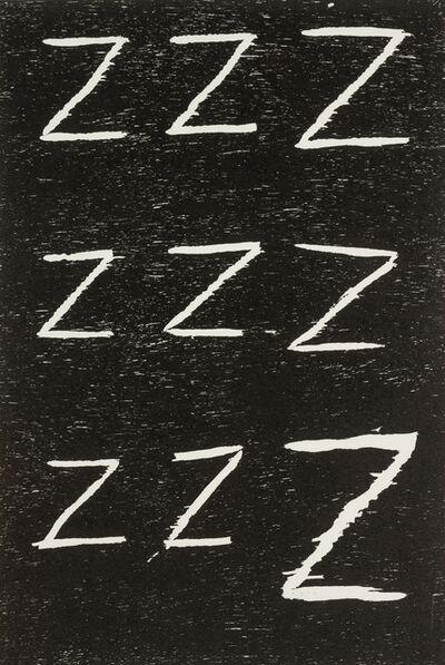 David Shrigley, 'Untitled (Zzz...)', 2005