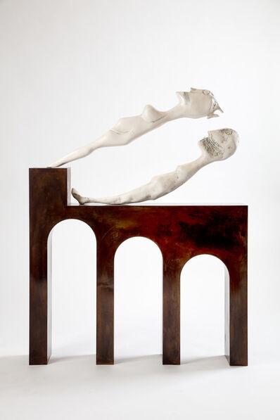 "Enrico David, '""Fortress Shadow""', 2017"