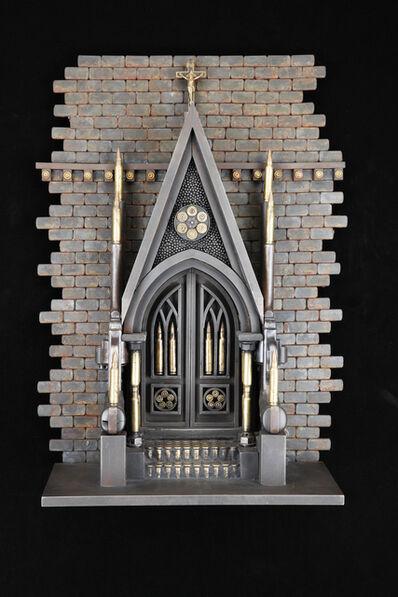 Al Farrow, 'Gothic Door', 2014