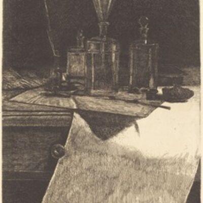 François Bonvin, 'Frontispiece', 1871