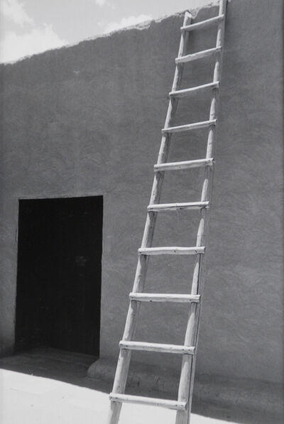 Todd Webb, 'Ladder and Adobe Wall, Georgia O'Keeffe's Abiquiu House, New Mexico', 1957