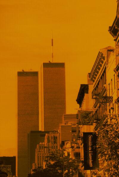 Isack Kousnsky, 'Twin Towers in Orange', 2010