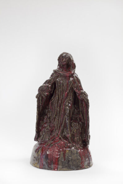 Paulina Olowska, 'Madonna of protective cloak from Ravensburg (after Michel Erhart or Fredrich Schramm)', 2014