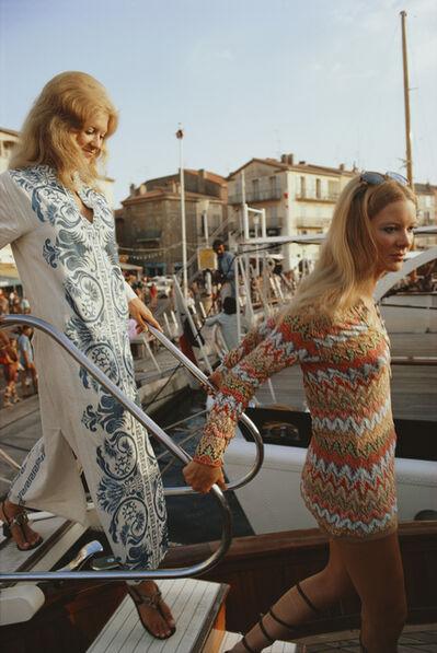 Slim Aarons, 'Saint-Tropez', 1971