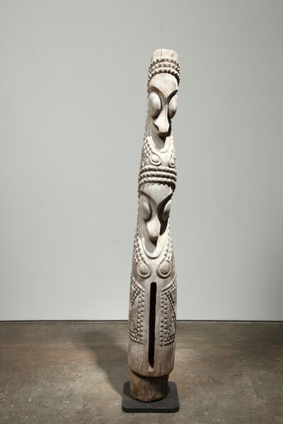 Oceanic Art, 'Ni-Vanuatu Double Headed Slit Gong Drum', 20