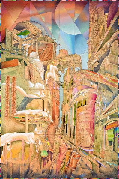 Alessandro Palladini, 'Strada Camionale Con Ristorante', 2013