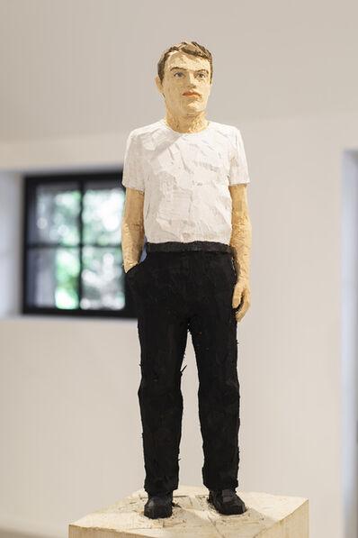 Stephan Balkenhol, 'Mann Hand in der Tasche', 2020