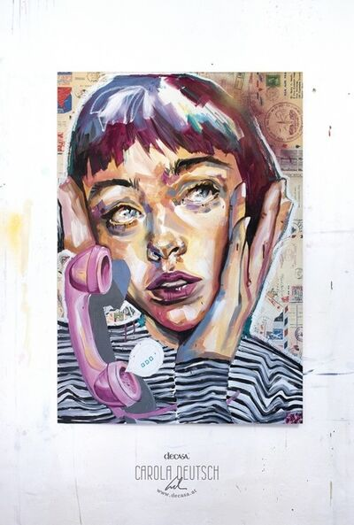 Carola Deutsch, 'The call', 2019