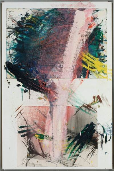 Arnulf Rainer, 'Gerupfte Dame', 1979