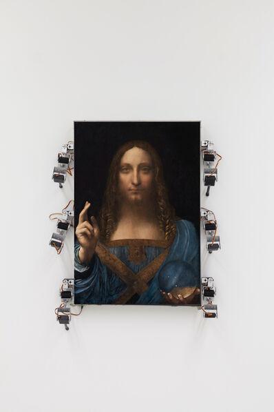 Donato Piccolo, 'Salvator Mundi che camina', 2018
