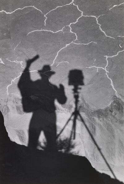 Ansel Adams, 'Self Portrait, Monument Valley, Utah', ca. 1958-printed ca. 1972