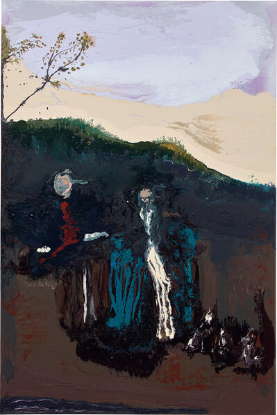 Genieve Figgis, 'Family with Dogs (after Gainsborough)', 2016