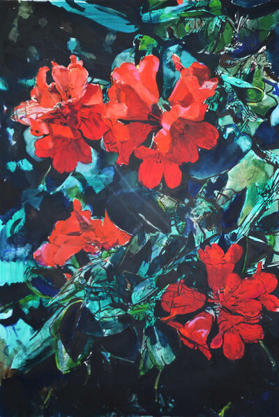 MARTIN GALLE, 'Spring (Green Red)', 2017