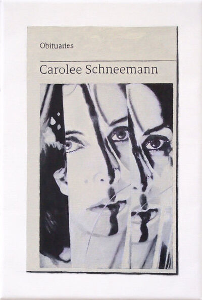 Hugh Mendes, 'Obituary: Carolee Schneemann ', 2010