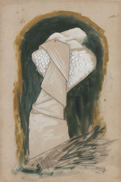 Méret Oppenheim, 'Frau in faltigem Gewande', 1944