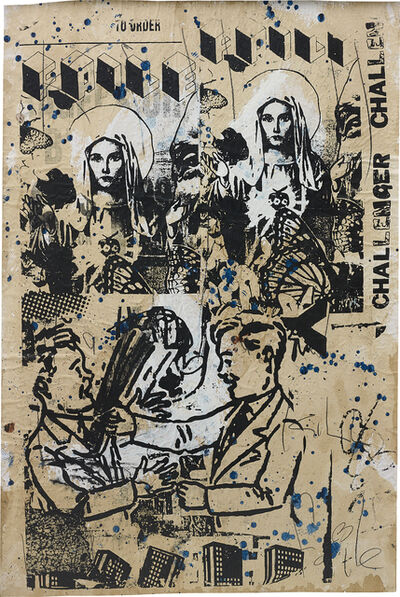 FAILE, 'Untitled (Challenger)', 2006