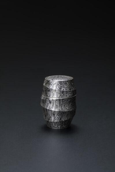 Sako Ryuhei, 'Mokume-gane Tea Container 02', 2020