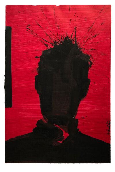 Richard Hambleton, 'Shadow Head Portrait', 2005