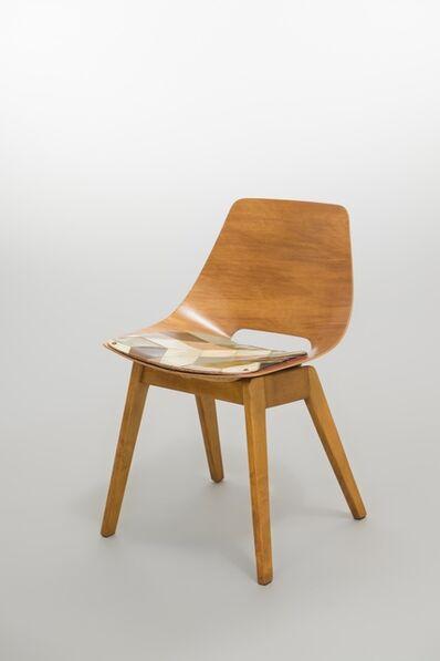 Atelier des Recherches Plastiques (A.R.P), 'Set of 6 chairs Amsterdam BC', 1954