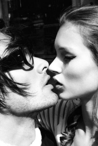 Stephanie Pfriender Stylander, 'Kate Moss and Markus Schenkenberg, Kiss me Kate, New York, for Harper´s Bazaar Uomo', 1992