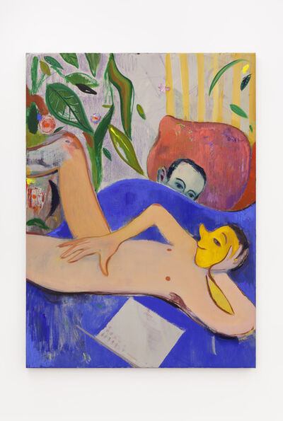 Sanya Kantarovsky, 'Visitor', 2014