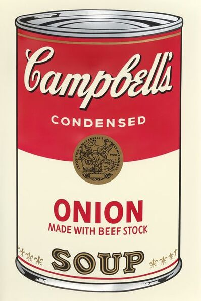 Andy Warhol, 'Onion, from Campbell's Soup I', 1968
