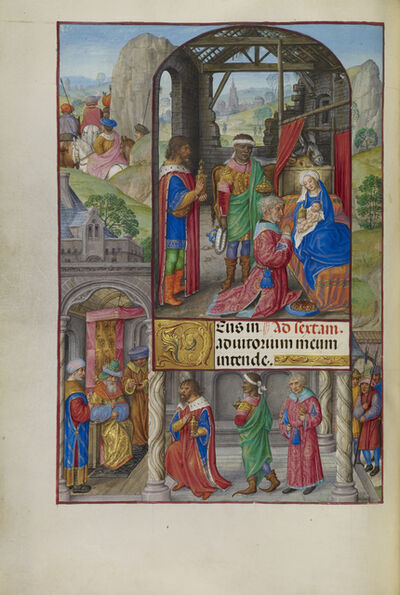 Master of James IV of Scotland, 'The Adoration of the Magi', 1510-1520