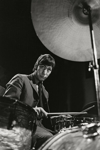 "Bent Rej, '""The Drummer"" Charlie Watts on Stage, Copenhagen, 1965', 1965"