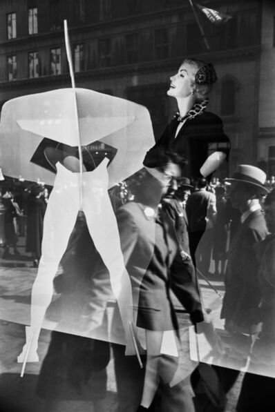 Werner Bischof, 'Reflection in store window, New York, USA ', 1953