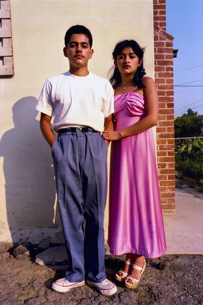 John Valadez, 'Couple Balam, from the East Los Angeles Urban Portrait Portfolio ', 1978